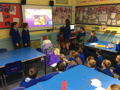 Year 6 prayer group   St Peter's RC Primary School
